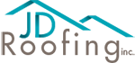 JD Roofing logo